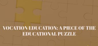 Vocational Education: A Piece of The Educational Puzzle