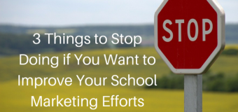 3 Things To Stop Doing If You Want To Improve Your Marketing Strategy