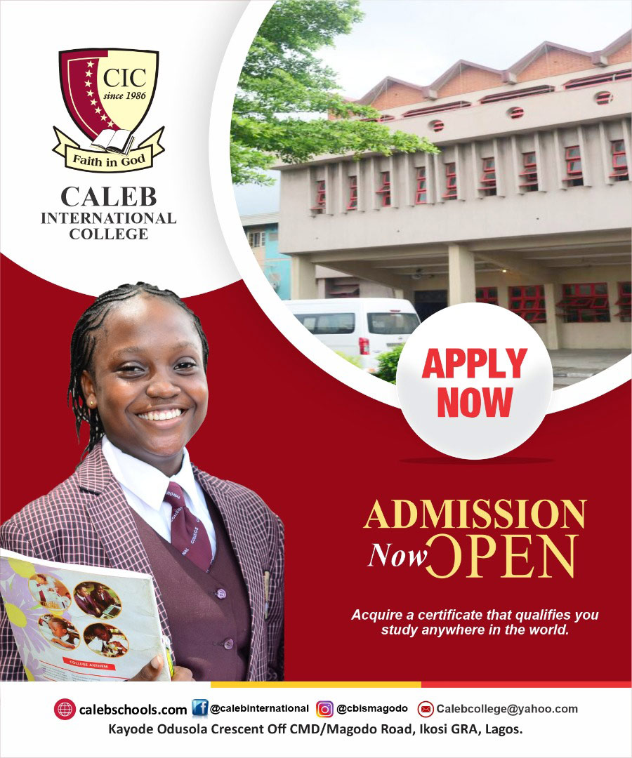 Caleb International School, Magodo, Lagos