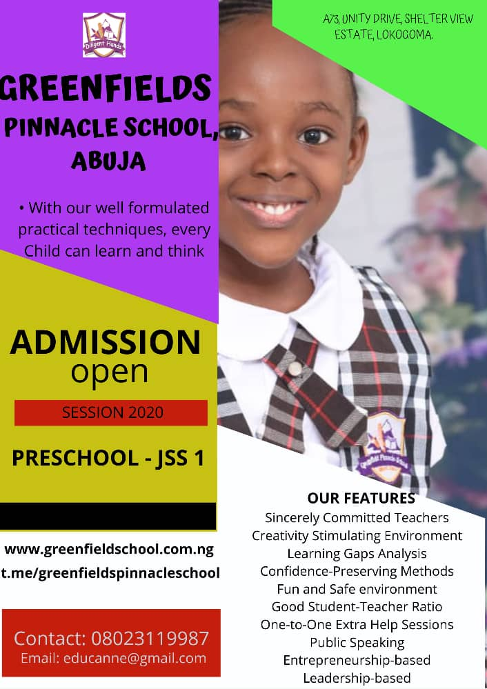 Greenfields Pinnacle School, Abuja