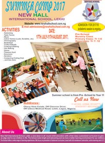 New Hall School Summer