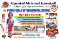 Prime-child Intl Schoolschools in Port Harcourt in Port Harcourt